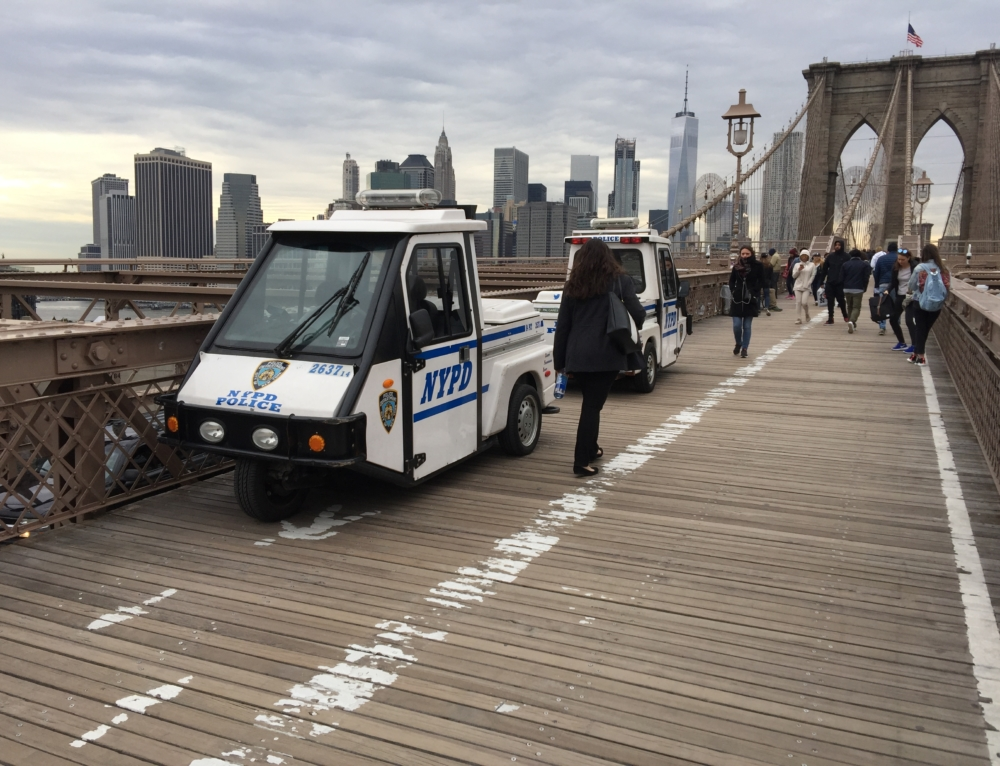 Guarding The Bridge – Two Icons Brought Together