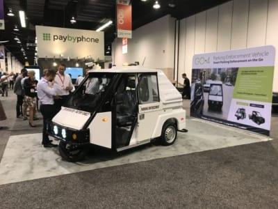 Go4 Parking Enforcement Vehicle