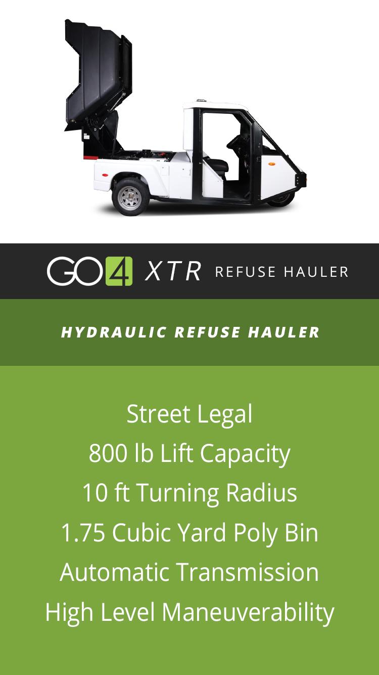 The Go4 XTR | The Go-4 Refuse Hauler