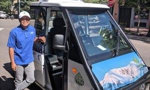 Go4 electric utility vehicle