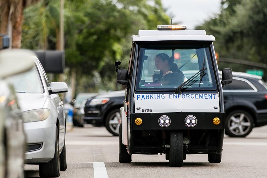 Parking-enforcement
