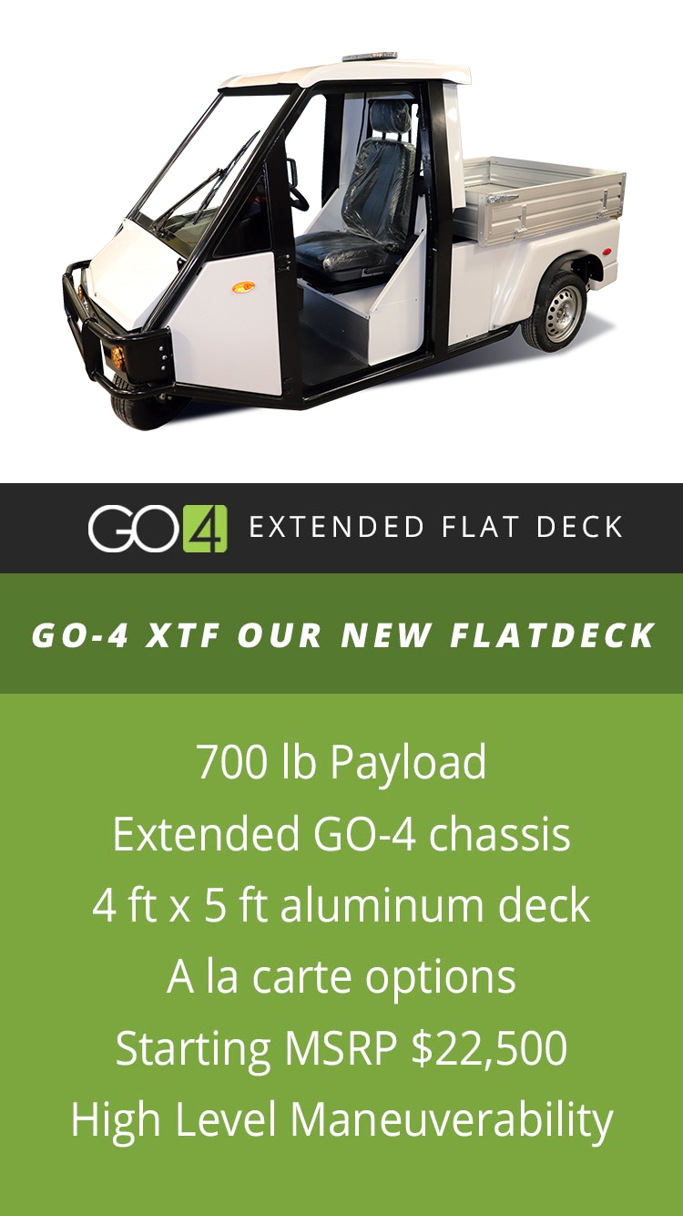 GO-4 Flatbed | GO-4 XTF Extended Flat Deck