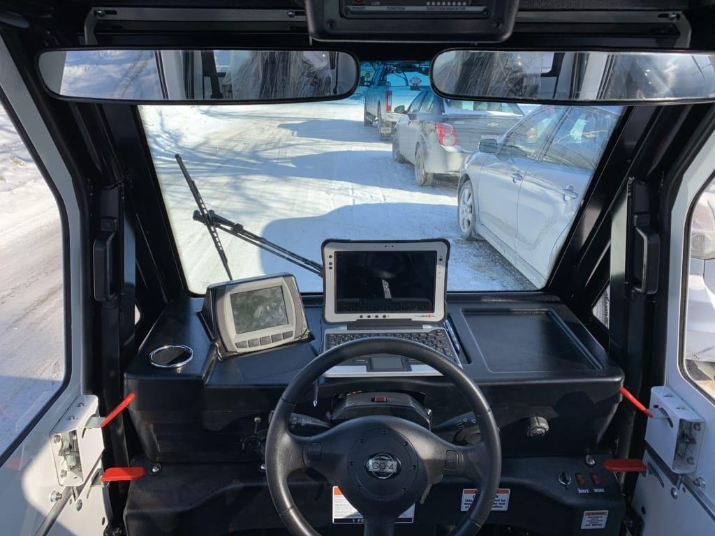 3 wheel electric utility vehicle